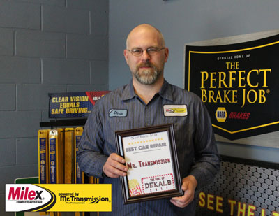 Moran Franchisee Profile – Mr. Transmission/Milex's Chris Robinson of Sycamore, IL